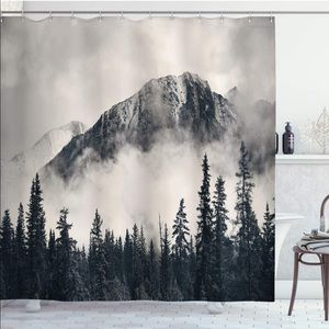 Other - Mountain Misty Forest Shower Curtain